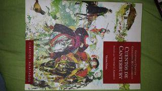 libro de lectura cuentos de canterbury