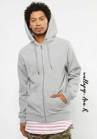 Sudadera capucha gris Urban Classics talla S nueva