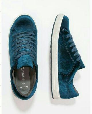 Zapatillas azul petróleo talla 40
