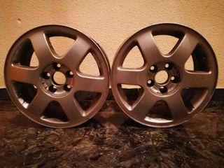 Llantas + neumáticos 2° mano