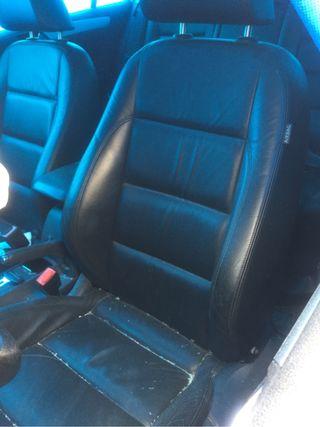 Interior asientos piel golf 6 calefactables