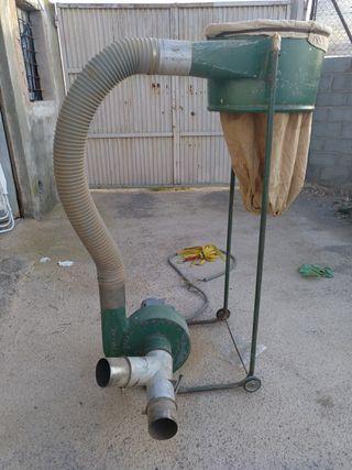aspirador industrial de serrin y viruta