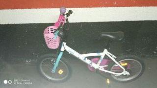 bicicleta 4-7 años btwin