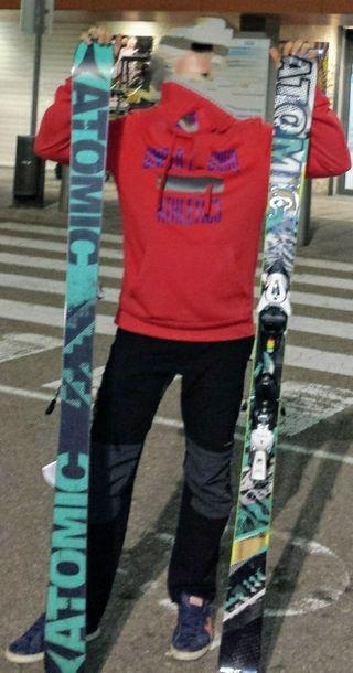 esquís freestyle