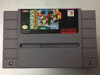 Juego HARLEYS Súper Nintendo