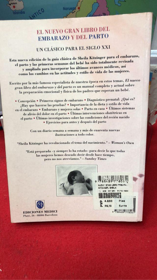 LIBRO EMBARAZO Y PARTO de segunda mano por 7 € en Madrid en WALLAPOP