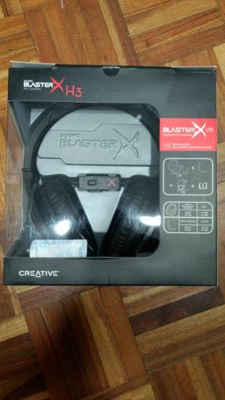 Creative Sound BlasterX H3 - Cascos gaming