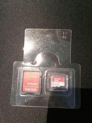 2 MICRO SD SANDISK 16GB CLASE 10 HC I