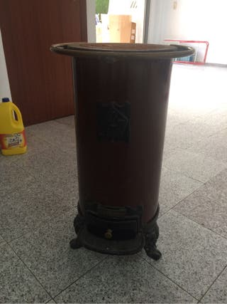 Estufa leña carbon Hergom