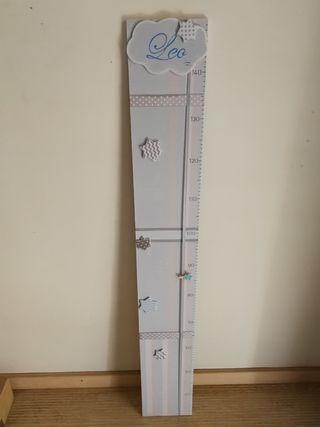 medidores madera bebes personalizados