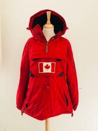 Chaqueta roja invierno Canadian Peak