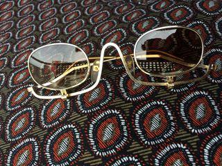 Gafas artesanal retro vintage