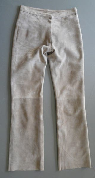 Pantalon daim Beige Farrutx T. 38
