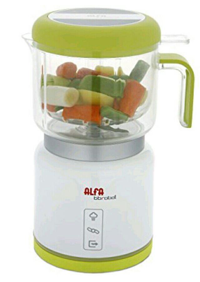 procesador alimentos bebés, robot alfa