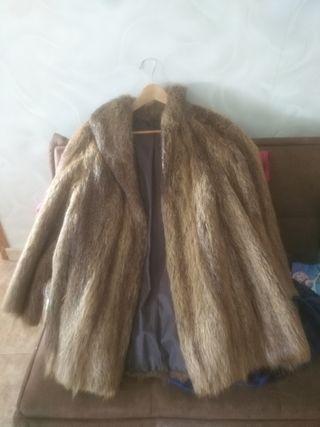 chaqueta de nutria