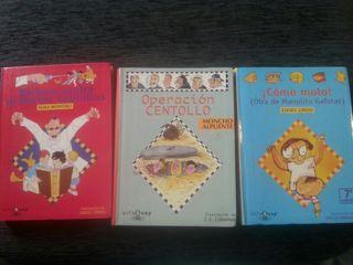 3 libros juveniles