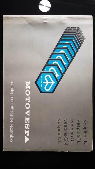Vespino GL año 1978 Catálogo de piezas