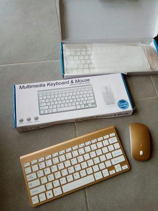 teclado y raton inalambricos