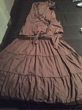 Falda y blusa tejido fresco