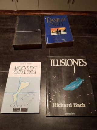 libros variados. A 3 euros.