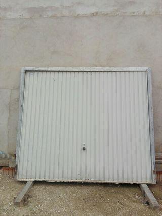 Puerta garaje ( rebaja 10%)