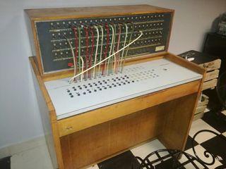 centralita telefónica años 60