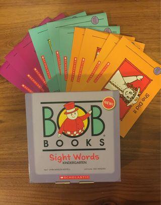 BOB BOOKS sight words SCHOLASTIC