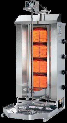 maquina asador de kebab 4fuegos.potis