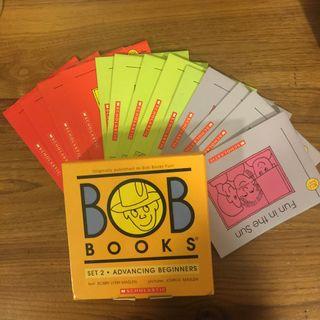 BOB BOOKS set 2 advancing beginners SCHOLASTIC