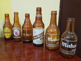 Botellas cerveza coleccion