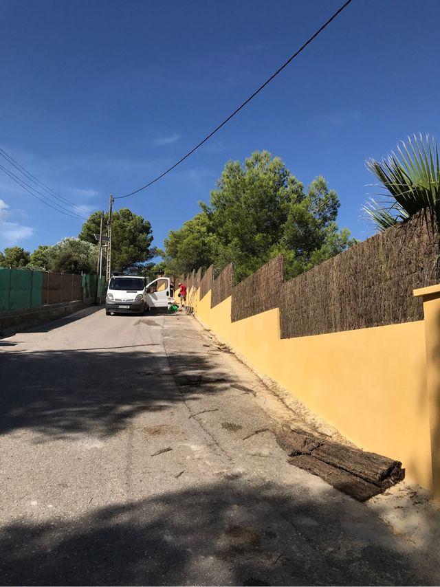 Vallar terreno cerramiento met licos de segunda mano por 15 en viladecans en wallapop - Precio vallar terreno ...