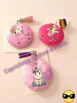 llaveros unicornios