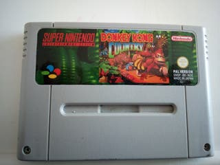 Donkey kong Country snes japones
