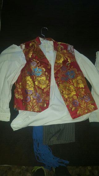 traje de fallero completo