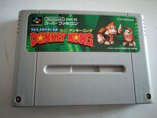 Donkey kong snes jap