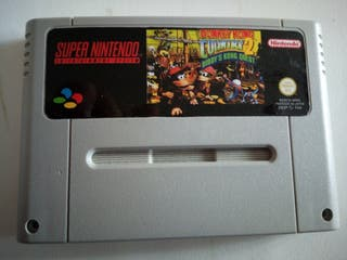 Donkey kong country 2 snes jap