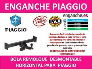 ENGANCHE PIAGGIO BOLA REMOLQUE