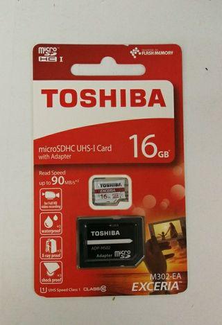 Memoria Toshiba Micro SD 16Gb