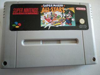 Super Mario all stars snes japones