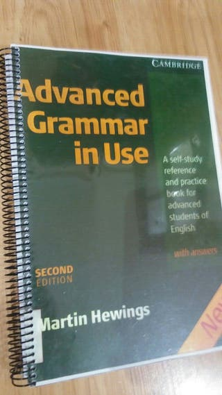 Usado, advanced grammar segunda mano  España