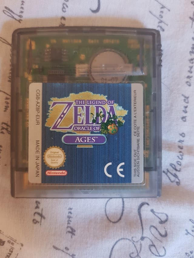 Juego De Zelda Game Boy Y Gameboy Advance