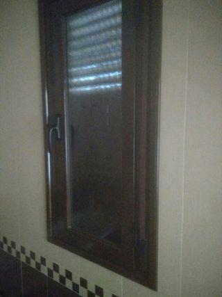 ventanas de aluminio .Ral 8014