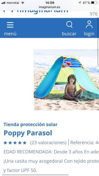 Tienda proteccion solar poppy