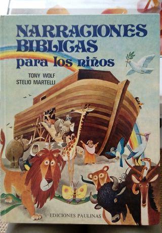 """""""La Biblia"""" cuento para niños"""