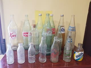 Botellas refresco coleccion
