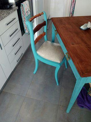 mesa cocina comedor madera