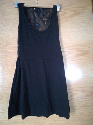 vestido negro talla S-M