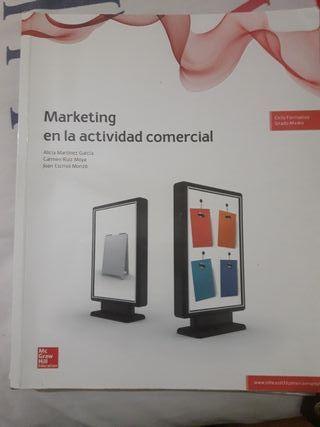 Libro de marketing en la actividad comercial