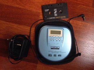 Reproductor cd/mp3 coche
