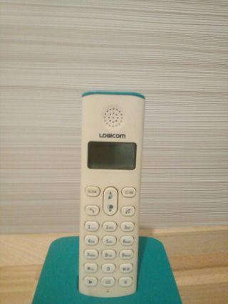 Teléfono con base
